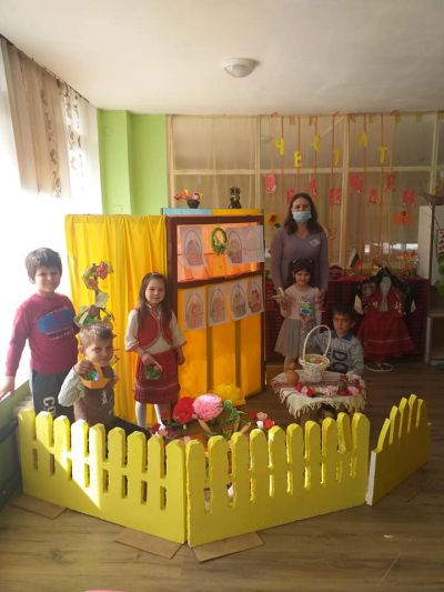 "Открита практика на теа""Великден в група 'Камбанка"" 1"